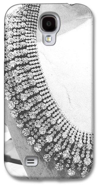 Girl Jewelry Galaxy S4 Cases - Diamonds Galaxy S4 Case by Lynsie Petig