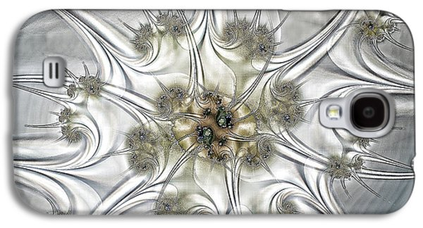 Geometric Digital Art Galaxy S4 Cases - Diamonds Galaxy S4 Case by Sharon Lisa Clarke