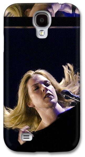 Pianist Photographs Galaxy S4 Cases - Diana Krall Galaxy S4 Case by Rafa Rivas