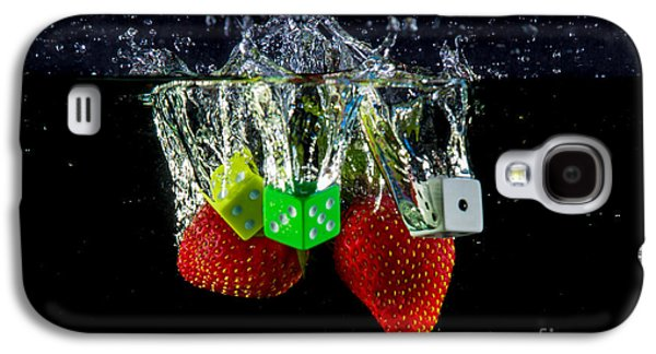 Dunk Galaxy S4 Cases - Dice Splash Galaxy S4 Case by Rene Triay Photography