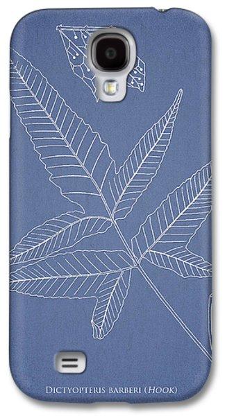Ornamental Digital Art Galaxy S4 Cases - Dictyopteris barberi Galaxy S4 Case by Aged Pixel