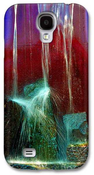 Abstract Digital Photographs Galaxy S4 Cases - Diffusion Number Five Galaxy S4 Case by Skip Willits