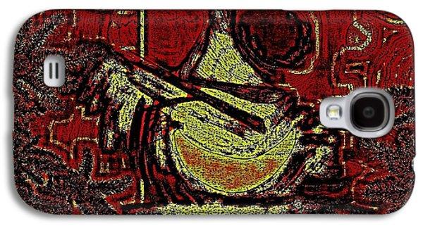 Etc. Digital Art Galaxy S4 Cases - Digital Abstract Galaxy S4 Case by HollyWood Creation By linda zanini