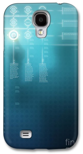 Digital Display  Galaxy S4 Case by Carlos Caetano