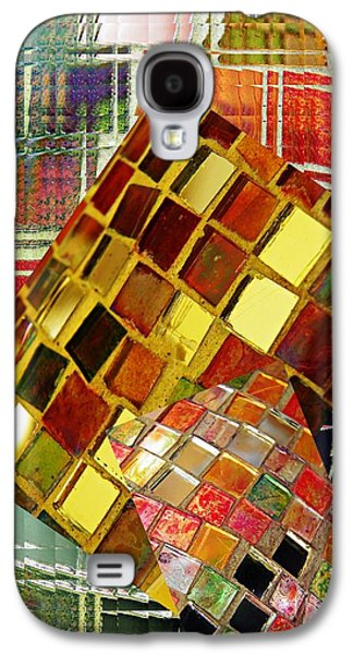 Abstract Digital Galaxy S4 Cases - Digital Mosaic Galaxy S4 Case by Sarah Loft