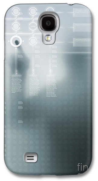 Digital User Interface Galaxy S4 Case by Carlos Caetano