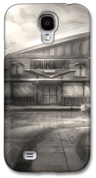 Concept Art Galaxy S4 Cases - Diner Galaxy S4 Case by Alex Ruiz