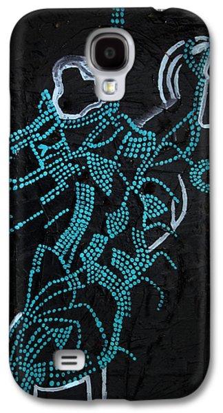 People Ceramics Galaxy S4 Cases - Dinka Motherhood Galaxy S4 Case by Gloria Ssali