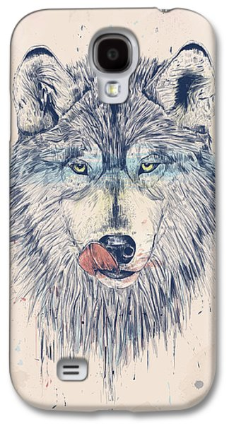 Animal Drawings Galaxy S4 Cases - Dinner time Galaxy S4 Case by Balazs Solti