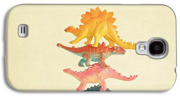 Dinosaur Antics Galaxy S4 Case by Cassia Beck