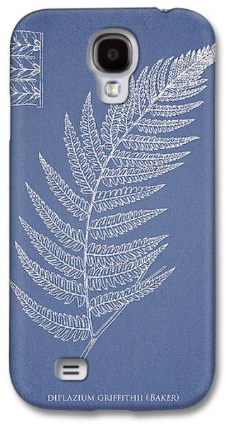 Ornamental Digital Art Galaxy S4 Cases - Diplazium Griffithii Galaxy S4 Case by Aged Pixel