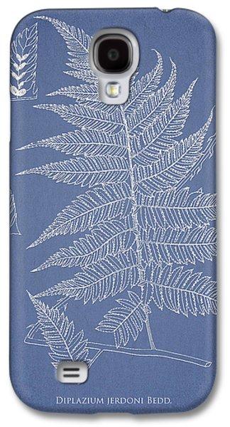 Ornamental Digital Art Galaxy S4 Cases - Diplazium jerdoni Galaxy S4 Case by Aged Pixel