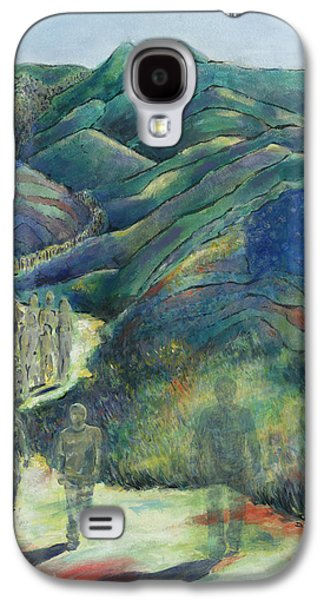 Declaration Of Independence Paintings Galaxy S4 Cases - Disappearing Galaxy S4 Case by Diane Ellias