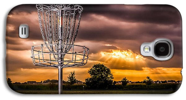 Disc Photographs Galaxy S4 Cases - Disc Golf Anyone? Galaxy S4 Case by Ron Pate