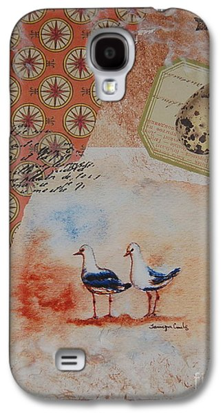 Nature Study Mixed Media Galaxy S4 Cases - Discovery  Galaxy S4 Case by Tamyra Crossley