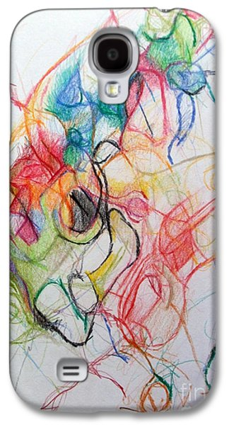Inner Self Galaxy S4 Cases - Dissapating Worry 1 Galaxy S4 Case by David Baruch Wolk
