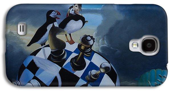 Disorder Paintings Galaxy S4 Cases - Dissociative Identity Galaxy S4 Case by Aleksandar Tesanovic