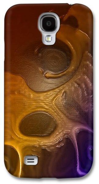 Abstract Digital Art Galaxy S4 Cases - Hot cocoa By Quim Abella Galaxy S4 Case by Joaquin Abella