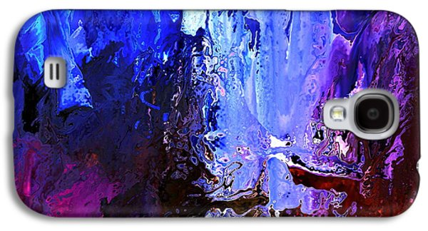 Abstract Digital Paintings Galaxy S4 Cases - Distant Light Galaxy S4 Case by Kume Bryant