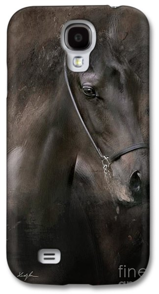 Horse Digital Galaxy S4 Cases - Distinguished Galaxy S4 Case by Dorota Kudyba