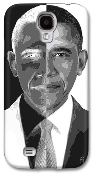 President Obama Galaxy S4 Cases - Divider In Chief Galaxy S4 Case by Cristophers Dream Artistry