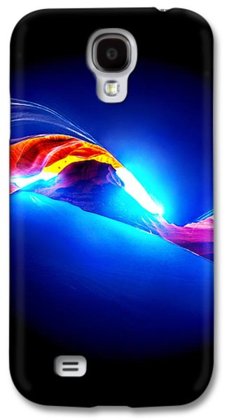 Abstract Nature Photographs Galaxy S4 Cases - Divine Connection Galaxy S4 Case by Az Jackson