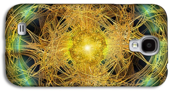 Abstract Movement Galaxy S4 Cases - Divine Meditation Galaxy S4 Case by Michael Durst
