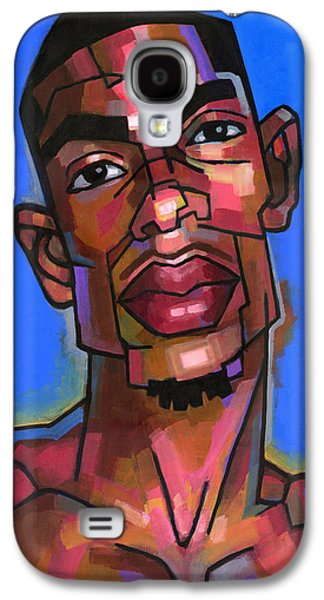 Character Portraits Paintings Galaxy S4 Cases - Dj Galaxy S4 Case by Douglas Simonson