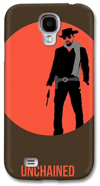 Western Digital Art Galaxy S4 Cases - Django Unchained Poster 1 Galaxy S4 Case by Naxart Studio