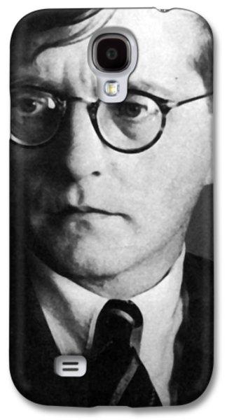 Headshot Galaxy S4 Cases - Dmitri Shostakovich Galaxy S4 Case by Unknown
