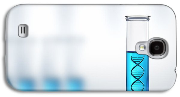 Lab Digital Art Galaxy S4 Cases - DNA research or testing in a laboratory Galaxy S4 Case by Johan Swanepoel