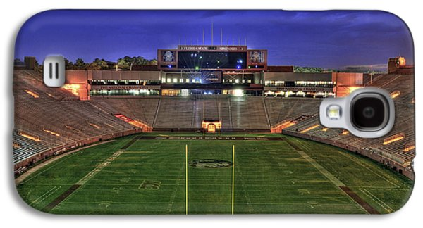 Hdr Landscape Galaxy S4 Cases - Doak Campbell Stadium Galaxy S4 Case by Alex Owen