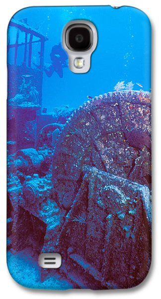 Undersea Photography Galaxy S4 Cases - Doc Polson Wreck In The Sea, Grand Galaxy S4 Case by Panoramic Images