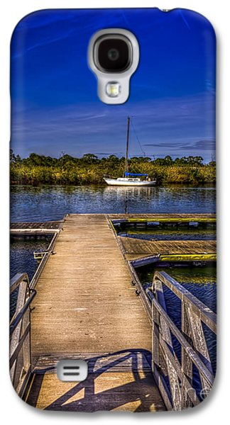 Sail Galaxy S4 Cases - Dock and Boat Galaxy S4 Case by Marvin Spates