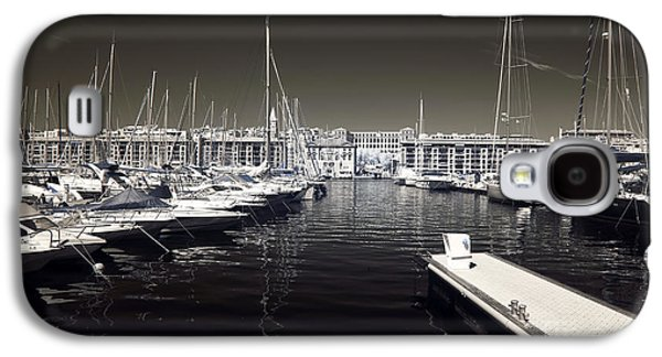 Docked Sailboat Galaxy S4 Cases - Dock in the Port Galaxy S4 Case by John Rizzuto