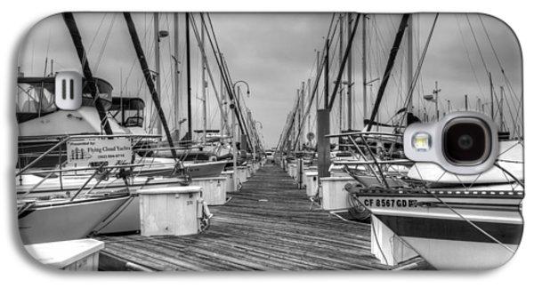 Wooden Platform Galaxy S4 Cases - Dock Life Galaxy S4 Case by Heidi Smith
