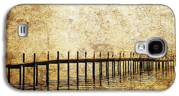 White River Scene Photographs Galaxy S4 Cases - Dock Galaxy S4 Case by Skip Nall