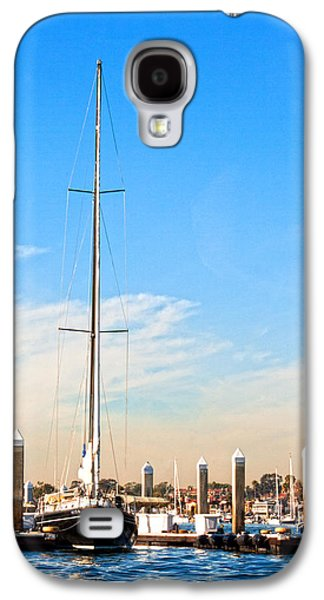 Sailboats Docked Galaxy S4 Cases - Docked Galaxy S4 Case by Chris Brannen