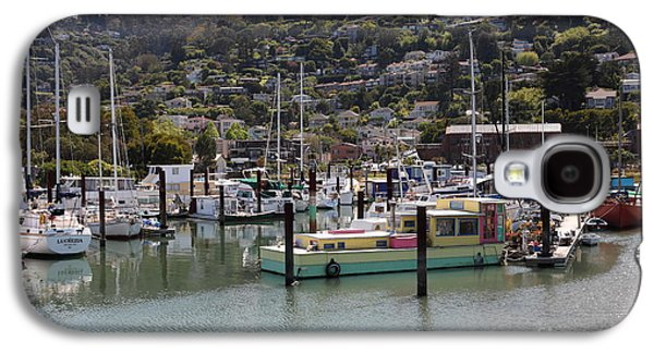 Sausalito Galaxy S4 Cases - Docks at Sausalito California 5D22697 Galaxy S4 Case by Wingsdomain Art and Photography