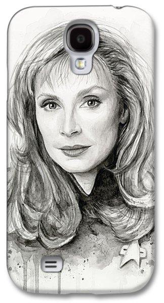 Star Trek Galaxy S4 Cases - Doctor Beverly Crsuher Galaxy S4 Case by Olga Shvartsur