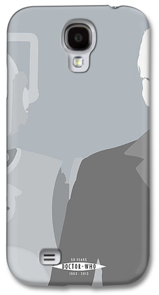 Ties Galaxy S4 Cases - Doctor Who 50th Anniversary Poster Set Tenth Doctor Galaxy S4 Case by Jeff Bell