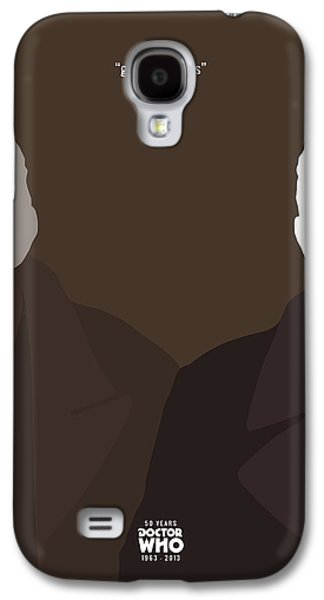 Tardis Galaxy S4 Cases - Doctor Who 50th Anniversary Poster Set The War Doctor Galaxy S4 Case by Jeff Bell