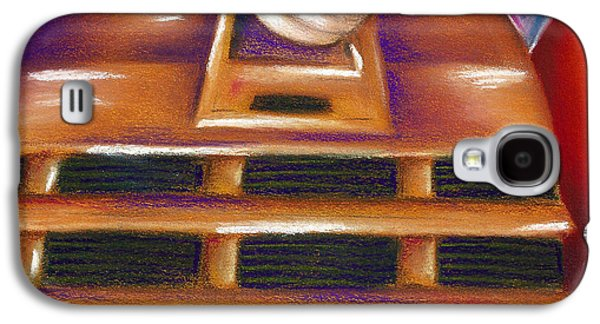 Science Fiction Pastels Galaxy S4 Cases - Dalek Galaxy S4 Case by Connie Mobley Johns