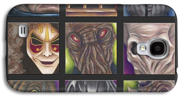 Science Fiction Pastels Galaxy S4 Cases - Doctor Who - Losers Galaxy S4 Case by Connie Mobley Johns