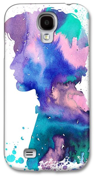 Tardis Galaxy S4 Cases - Doctor Who  Galaxy S4 Case by Luke and Slavi