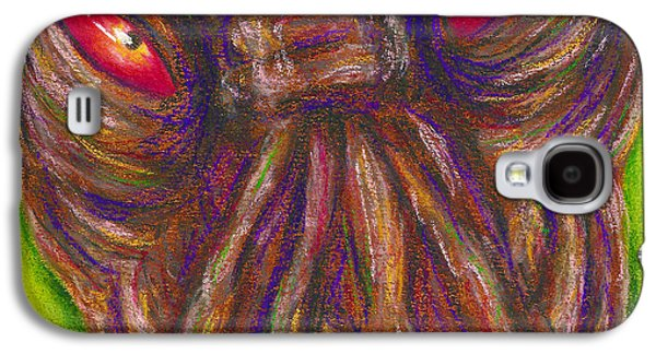 Science Fiction Pastels Galaxy S4 Cases - Ood Galaxy S4 Case by Connie Mobley Johns