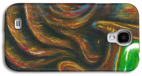 Science Fiction Pastels Galaxy S4 Cases - The Hath Galaxy S4 Case by Connie Mobley Johns