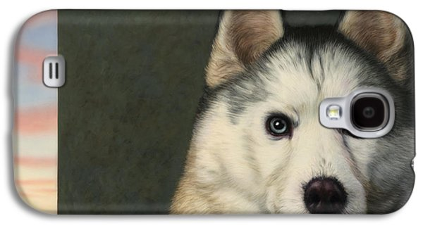 Puppies Galaxy S4 Cases - Dog-Nature 9 Galaxy S4 Case by James W Johnson