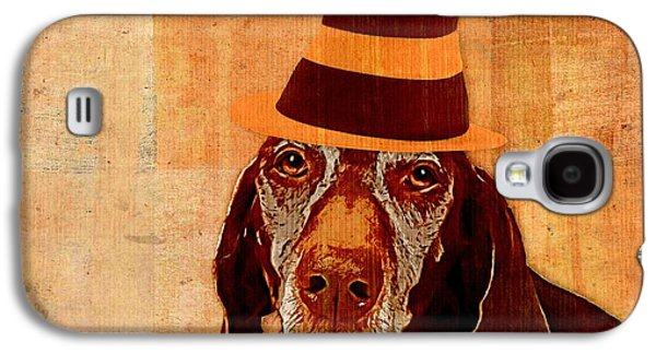 Personality Galaxy S4 Cases - Dog Personalities 11 Cat in the Hat Galaxy S4 Case by Variance Collections