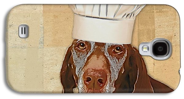 Dog Personalities 56 Chef Galaxy S4 Case by Variance Collections
